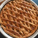 Delicioso pie de manzana